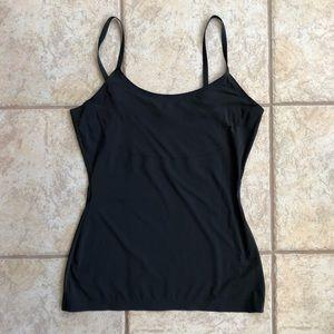 SPANX Black Shape wear Camisole Large